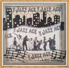 Jazz Age, Photo Wall, Frame, Home Decor, Picture Frame, Photograph, Decoration Home, Room Decor, Frames
