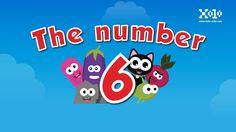 Aquí esta nuestro video para niños de el número 6 en ingles #videoseningles #numeroseningles #videosbb  #videosninos #videoseducativos