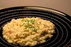 Risotto mit geräuchertem Käse