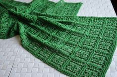 Chaukor Shawl - This is a knit pattern. I should be able to translate this to crochet. awj