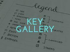 Bullet Journal Key Inspiration