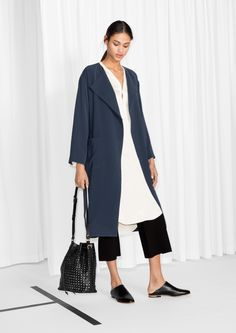 & Other Stories | Belted Trench Coat