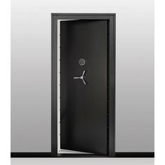 SnapSafe Vault Room Door- at Lowe's. Enhance the security of any closet, room, or storm shelter with the snap safe vault door. It's thick steel construction and easy installation allow an Safe Room Doors, Gun Safe Room, Safe Door, Secret Room Doors, Closet Safe, Gun Closet, Secret Storage, Gun Storage, Cool Secret Rooms