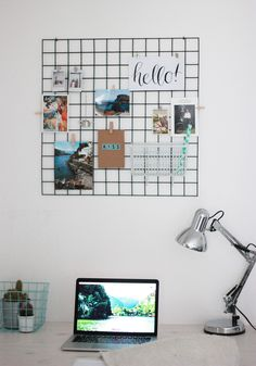 DIY: Wandrek (Wall Grid)