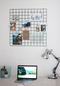 draht memoboard grau alt image two hz no 1 fritzis room pinterest memoboard draht und. Black Bedroom Furniture Sets. Home Design Ideas