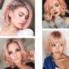 Боб розовые волосы