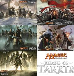 Magic: the Gathering Khans of Tarkir Five Clans