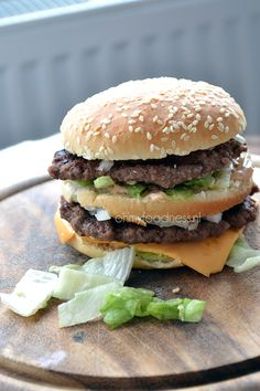 How to make the Big Mac at home. Just as delicious as the real deal.
