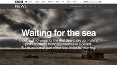 Waiting for the sea, BBC News