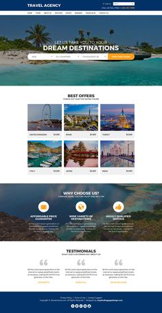 travel landing page design to capture lead and boost your business travel agency - Travel Travel Landing Page Design To Capture Lead And Boost Your Business Travel Agency Website, Travel Website Design, Tourism Website, Website Design Layout, Travel Design, Travel Website Templates, Logo Tourism, Travel Agency Logo, Travel Tourism