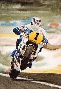 Wayne Gardner - Rothmans Honda