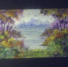 Art painting aceo original paintings landscape  £5.00