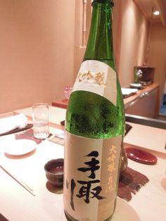 Wow! the wonderfully delicious and very clean Tedorigawa Meiryu Daiginjio!