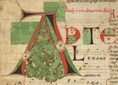 Titel Graduale cisterciense - Lichtenthal 2 Erschienen Neuburg bei Hagenau (?), [4. Viertel des 12. Jh.]