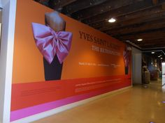 Wall Mural Promotional Graphic in a historic shopping district in Denver - Adhesive 3M laminated Vinyl