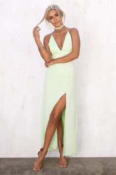 Lime Paradise Maxi - Dresses by Sabo Skirt Sabo Skirt, Pretty Dresses, Hue, Dresses Online, Ready To Wear, Paradise, Women's Clothing, Clothes For Women