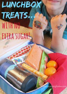 Tuck a Little Treat into Your Child's Lunchbox... With No Sugar Added!