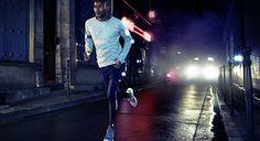 Ropa deportiva para correr por la noche de H