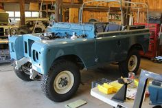Land Rover Serie 1, New Panel, Engine Rebuild, Marine Blue, Land Rovers, Landing, 4x4, North America, Monster Trucks