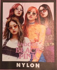 BLACKPINK NYLON JAPAN Magazine