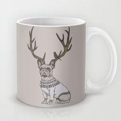 Deer Frenchie  Mug