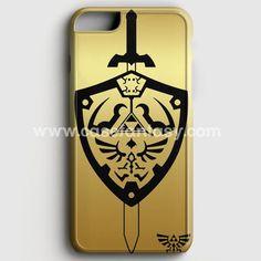 Zelda Master Sword Hylian Shield iPhone 6/6S Case | casefantasy
