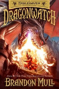 Dragonwatch by Brandon Mull.  Click on the image to place a hold on this item, in the Logan Library catalog.