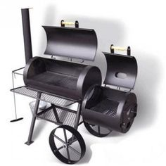 stainless steel oil barrel.bbq.pit with chimney - Google Search