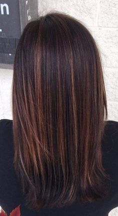 Silvery Dream - 20 Ways to Wear Violet Hair - The Trending Hairstyle Brown Hair With Blonde Highlights, Hair Highlights, Long Dark Hair, Violet Hair, Brunette Hair, Long Brunette, Brunette Color, Brown Hair Colors, Great Hair