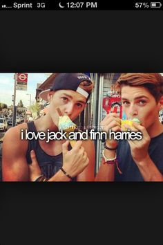 British youtubers Jack and Finn... Heck Yesss!