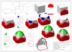 GRAFICA e PROGETTAZIONE MULTIMEDIALE - laboratorio di Geometria descrittiva - modellazione e rappresentazione grafica - impaginazione volumi...
