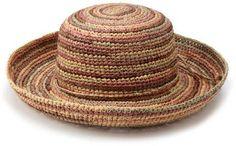 San Diego Hat Company Women's Crochet Raffia Hat