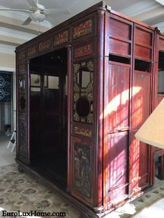 Client Spotlight: Antique Chinese Wedding Bed - Letters from EuroLux Wedding Bed, Chinese Cabinet, Oriental Furniture, Qing Dynasty, Architectural Elements, Chinoiserie, Furniture Decor, Dates, Pine