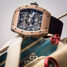 Richard Mille in Gold Case. Dream Watches, Fine Watches, Luxury Watches, Richard Mille, Gentleman Watch, Jewelry Boards, Made Goods, Watch Brands, Jewels