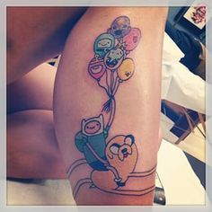 "33 ""Adventure Time"" Tattoos That Will Give You Life"