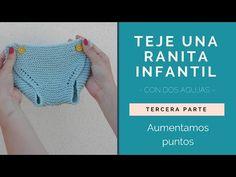 ¡TEJE UNA RANITA INFANTIL! PRIMERA PARTE - YouTube