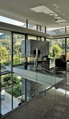 blending the indoors and outdoors