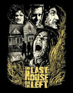 The last house on the left horror movie poster