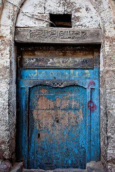Old Door in Yemen