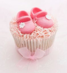 Cupcakes que harán felíz a toda embarazada en su Babyshower