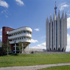 Institute of Cybernetics, Saint-Petersburg, Russia  #socialist #brutalism #architecture