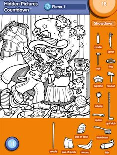 hidden pictures highlights - Google keresés Hidden Object Puzzles, Hidden Picture Puzzles, Hidden Objects, Puzzles For Kids, Worksheets For Kids, Activities For Kids, Coloring Books, Coloring Pages, Hidden Pictures