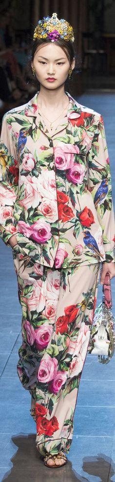 Dolce & Gabbana Spring 2016 RTW