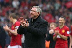 Saying goodbye to Old Trafford after 26 wonderful years. Sir Alex Ferguson.