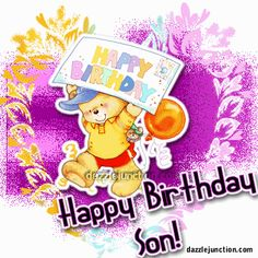 happy b day quotes for a son   Happy Birthday Son Comments, Images, Graphics, Pictures for Facebook