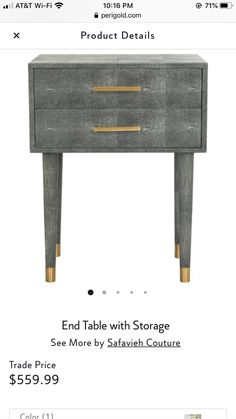 End Tables With Storage, New Living Room, Consoles, Color, Furniture, Home Decor, Colour, Fresh Living Room, Interior Design