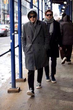 모자와 코트의 상관관계