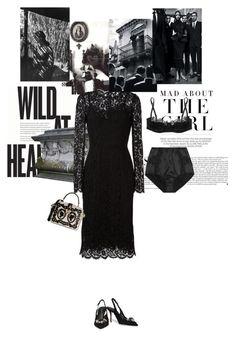 """""""Day of dead"""" by theitalianglam ❤ liked on Polyvore featuring Kershaw, Dolce&Gabbana, Once Upon a Time, dolcegabbana and mariateresa"""