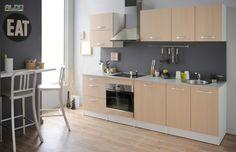 Kuchynská linka v cene s prac. doskou Spoony | Nábytok Aldo