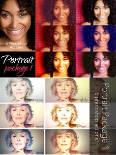 Portrait Package 1 - 6 actions. Actions. $4.00